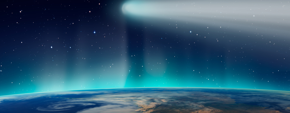Far-Ultraviolet Aurora Discovered at Comet Chury