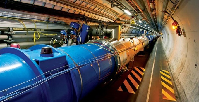 KU Physicist Proposes New Concept about Large Hadron Collider Excess