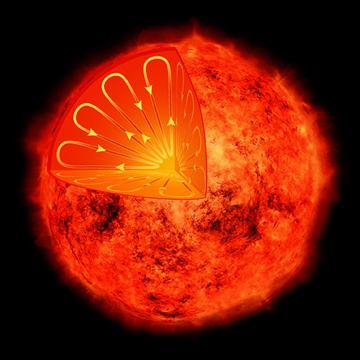 NASA's Chandra X-ray Observatory Reveals New Information on Sun's Magnetic Field Generation