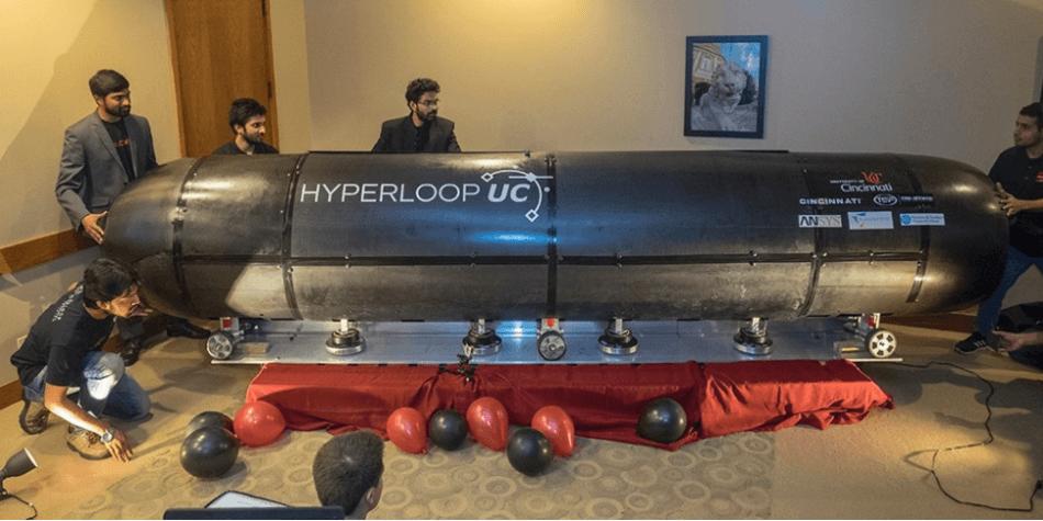 Hyperloop UC Pod Achieves Successful Magnetic Levitation
