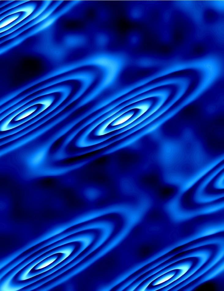 Experiment Illuminates Unusual Collective Behavior in Electrons in High-Magnetic Field