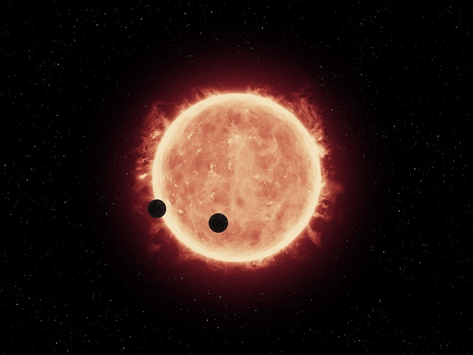 Computer Simulations Reveal Earth-Sized Planets May Contain Large Amounts of Water