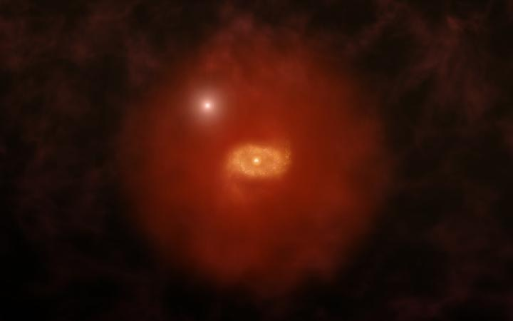 Astronomers Observe Pair of Milky Way-Like Galaxies in Early Universe