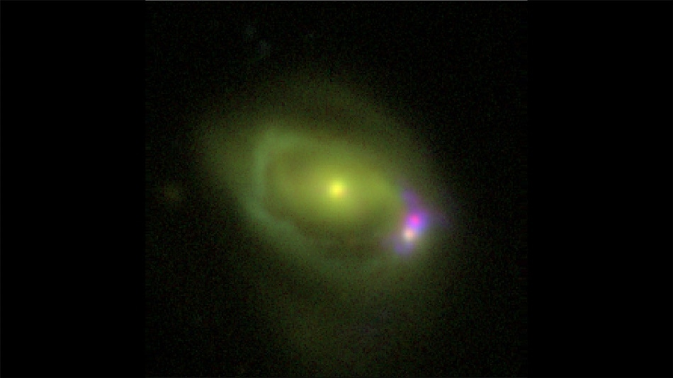 NuSTAR Mission Helps Scientists Explore the Mystery Behind Galaxy Merger
