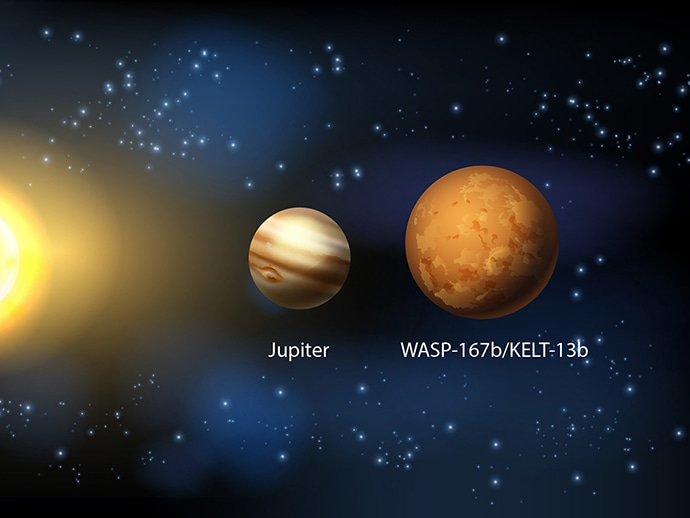 First Collaborative Exoplanet Search Teams Discover New Hot Jupiter