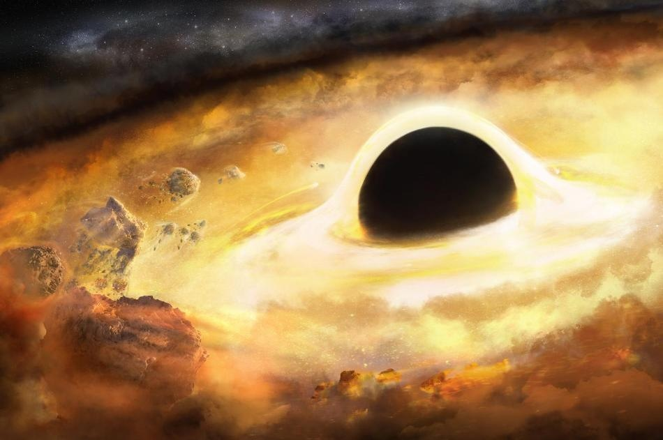 Spiral Arms Allow Astronomers and School Children to Estimate Mass of Hidden Black Hole