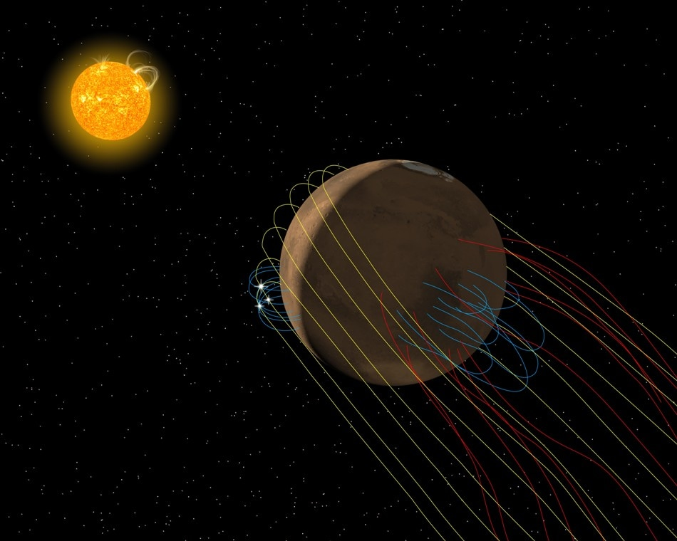 Mars has Invisible Magnetic Tail, Finds NASA's MAVEN Mission