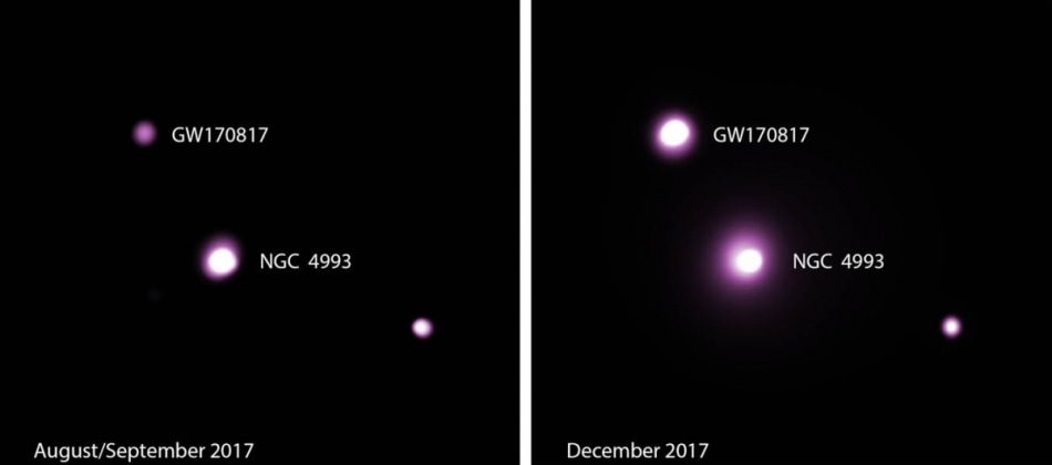 Afterglow from Neutron-Star Merger Continues to Brighten