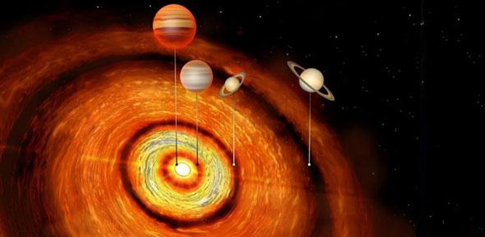 Giant Planets Around Young Star Give Insight Into How Planetary Systems Form