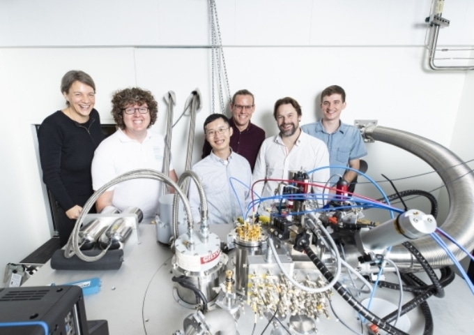 Researchers Achieve First Two-Qubit Gate Between Silicon Atom Qubits