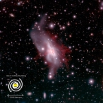 Researchers Reveal Detailed Structure of Massive Ionized Gas Outflow from Starburst Galaxy