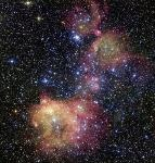 Astronomers Study Colourful Emission Nebula to Better Understand Development of New Stars