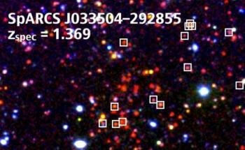 UC Riverside-Led Team Discovers Four of Most Distant Clusters of Galaxies Ever Found