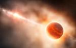 Giant Planet Forms in Ring of Dust around Young Star