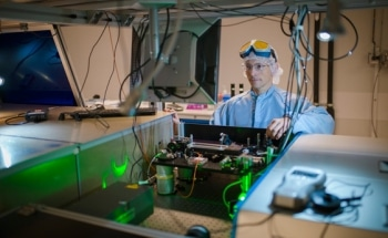 Physics Professor Builds World-Class Laser Optics Laboratory in Natural Sciences Building at Umea University