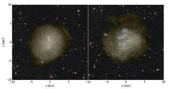 Researchers Solve Mystery Behind Formation of Ultra-Diffuse Faint Galaxies