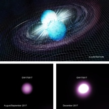 Gravitational Waves Generated After Neutron Star Merger Likely Signaled Birth of New Black Hole