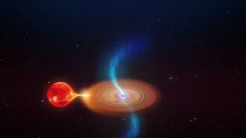 Astronomers Discover High-Speed Plasma Clouds Coming from V404 Cygni's Black Hole