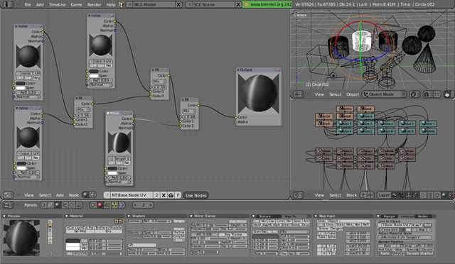 Blender open source 3d graphics software Open source graphics software